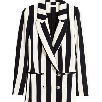 Double-breasted Jacket - from H&M