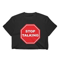 Stop Sign Crop Top