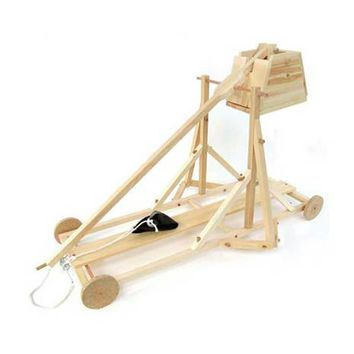 Working Wood Trebuchet DIY Kit