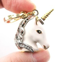 Unicorn Animal Pendant Necklace | Limited Edition Animal Jewelry