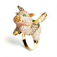 Fig the Flying Pig Ring