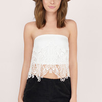 Serenity Embroidery Lace Top