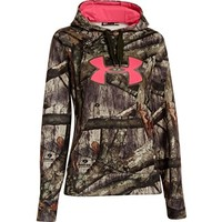 Under Armour Women's Big Logo Hooded Sweatshirt Polyester Realtree