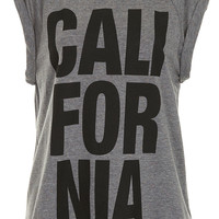 California Roll Back Tee - Jersey Tops - Clothing - Topshop USA