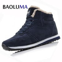 Men's Winter Boot Snow Boots Ankle Work Boots