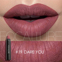 New Sexy Nude Lipstick Waterproof Lip Pencils Beauty Batom Velvet Matte Lip Stick Tattoo Red Lip Tint Focallure Makeup