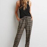 Diamond Print Pants
