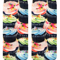 Cupcake Craze Ankle Socks
