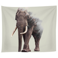 Elephants Tapestry