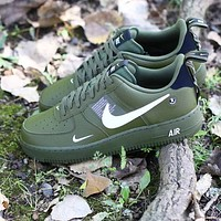 Nike Air Force 1 Utility Low Sneakers Shoes-1