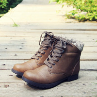 The Mountaineer Sweater Boots in Taupe