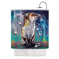 "Mat Miller ""There is a Light"" Shower Curtain"