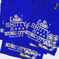 Gettin Sh*tty in Music City Nashville Bridal Bachelorette Party Tanks or Tee