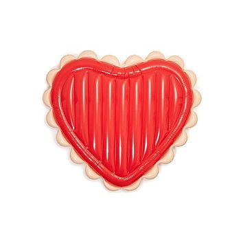 Float On Giant Inflatable - Sweetheart Red