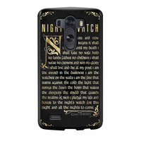 Game Of Thrones Nights Watch LG G3 Case