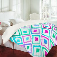 DENY Designs Home Accessories   Amy Sia Watercolor Ikat 2 Duvet Cover