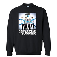 5 Seconds of Summer Sweatshirt 5 SOS One Direction Inspired Sweater.Calum Luke Michael Ashton band.Please visit 5SOS Shirt 5Sos  t-shirt