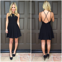 Skater Little Black Dress