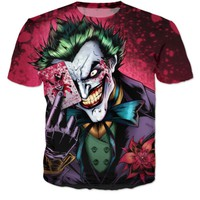 The Joker graphic t-shirts for men and women