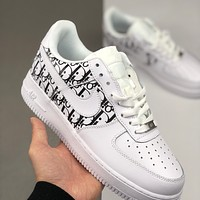 Nike Air Force 1 x Dior low-top versatile casual sports shoes