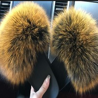 Fluffy Fur Slippers