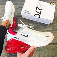 NIKE AIR MAX 270 Fashion New Mesh Women Men Running Leisure Shoes 4#