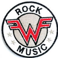 "WEEZER Rock Music Iron On Embroidered Patch 3.6""/9.4cm"