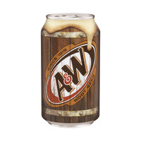 A & W Root Beer 12 Oz Cans - Case of 12
