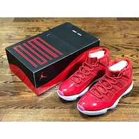 Air Jordan 11 GymRed AJ11 run shoes