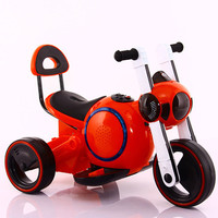New Large Space Dog Electric Motorcycle Three Wheels Children's Ride On ElectricTricycle Kids Toy Car High Qaulity Baby Car