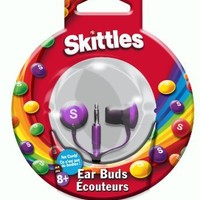 Maxell SKEB-P Skittles In-Ear Ear Buds, Purple