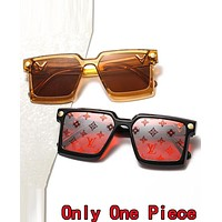 LV Louis Vuitton Summer Fashion Women Men Shades Eyeglasses Glasses Sunglasses