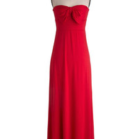 Away Dress in Red