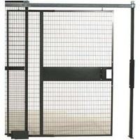 Wirecrafters Sliding Gate, 5 ft x 8 ft 1/4 In, Enamel SD588   Zoro.com