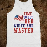 RED, WHITE, & WASTED - Flirty Falcon