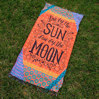 Beach Towel Live by the Sun