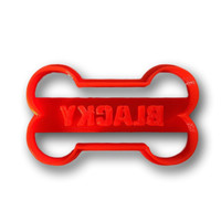 Personalized Dog Bone Cookie Cutter (for your puppies)