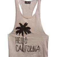 Popular Women's Hello California Tank