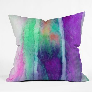 Jacqueline Maldonado Skein 2 Throw Pillow