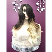 Brown ombre lace part wig | Paisley