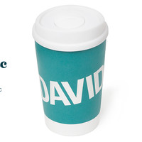 The Iconic Cup - Reusable Double-Wall Ceramic Cup With Lid | Davidstea