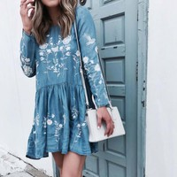 Idaho Chambray Dress