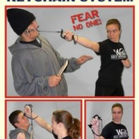 Whip Self Defense Keychain System Instructional DVD