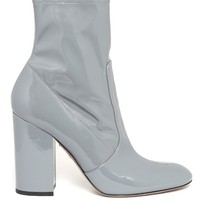 Block-heel patent-leather ankle boots | Valentino | MATCHESFASHION.COM UK