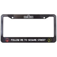 Sesame Street - Follow Me License Plate Frame