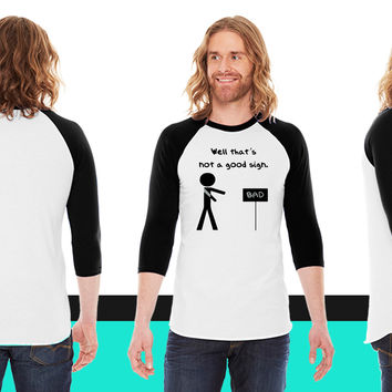 Welcome To The Dark Side We Lied About The Cookies_ American Apparel Unisex 3/4 Sleeve  American Apparel Unisex 3/4 Sleeve  American Apparel Unisex 3/4 Sleeve T-Shirt