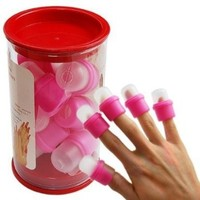 10PC wearable nail art soakers Ongle acrylic removal