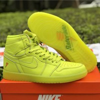 Nike Air Jordan Retro 1 High OG G8RD Gatorade Cyber AJ5997-345 Basketball Sneaker