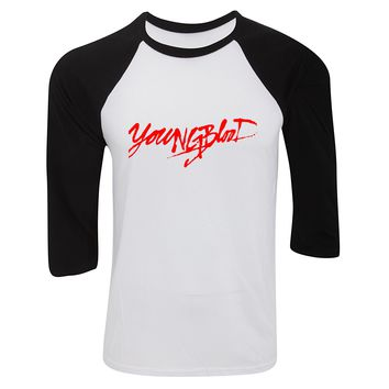 """5SOS 5 Seconds of Summer """"Youngblood"""" Baseball Tee"""