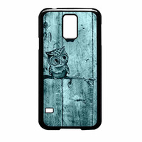 Owl And Apple Woodm Samsung Galaxy S5 Case